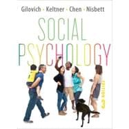 Social Psychology 3E CL W/ EB REG CRD