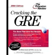 Cracking the GRE, 2004 Edition