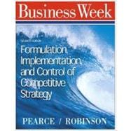 Formulation, Implementation, and Control of Competitive Strategy
