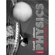 Physics, Student Study Guide, 7th Edition