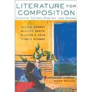 Literature for Composition: Essays, Fiction, Poetry, and Drama (with Craft of Literature CD-ROM)