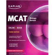 MCAT Biology Review Online + Book