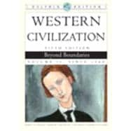 Western Civilization Beyond Boundaries, Dolphin Edition, Volume II