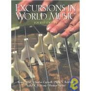Excursions in World Music and Study Guide Package