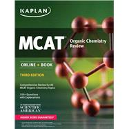MCAT Organic Chemistry Review Online + Book