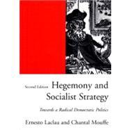 Hegemony/Socialist Strategy 2E Pa