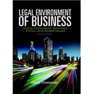 Legal Environment of Business Online Commerce, Ethics, and Global Issues