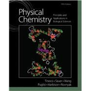 Physical Chemistry Principles and Applications in Biological Sciences Plus MasteringChemistry with Pearson eText  -- Access Card Package