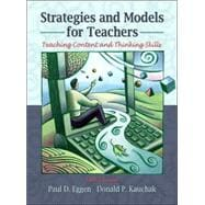 Strategies and Models for Teachers : Teaching Content and Critical Thinking