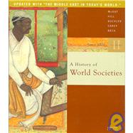 A History of World Societies; Volume 2: Since 1500