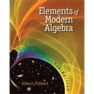 Elements of Modern Algebra, 7th Edition