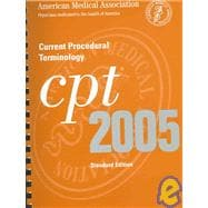 Cpt 2005: Current Procedural Terminology
