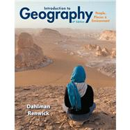 Introduction to Geography People, Places & Environment Plus MasteringGeography with eText -- Access Card Package