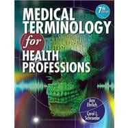 Audio CDs for Ehrlich/Schroeder�s Medical Terminology for Health Professions, 7th