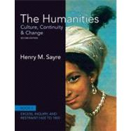 The Humanities Culture, Continuity and Change, Book 4: 1600 to 1800