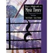 Basic Materials in Music Theory : A Programmed Course
