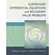 Elementary Differential Equations and Boundary Value Problems, 9th Edition