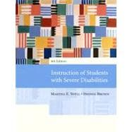 Instruction of Students with Severe Disabilities