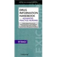 Drug Information Handbook for Advanced Practice Nursing