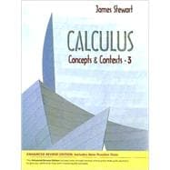 Calculus : Concepts and Contexts