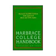 Harbrace College Handbook, 12E, Revised