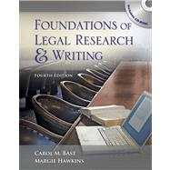 Foundations of Legal Research and Writing (Book with CD-ROM)