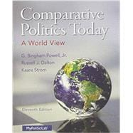 Comparative Politics Today A World View Plus NEW MyPoliSciLab with Pearson eText -- Access Card Package