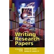 Writing Research Papers : A Complete Guide (perfect-bound) (with MyCompLab)