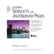 Core Servlets and JavaServer Pages (JSP)