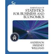 Bundle: Essentials of Statistics for Business and Economics