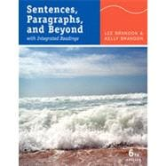 Sentences, Paragraphs, and Beyond: With Integrated Readings, 6th Edition