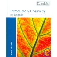 Introductory Chemistry: A Foundation (Book with CD-ROM)