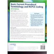Basic Current Procedural Terminology and HCPCS Coding, 2012 edition