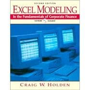 Excel Modeling in the Fundamentals of Corporate Finance and UG Corporate Finance Software Package