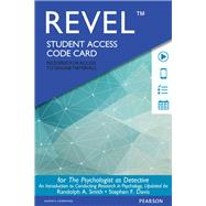 The REVEL for Psychologist as Detective An Introduction to Conducting Research in Psychology  -- Access Card