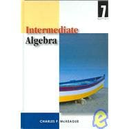Intermediate Algebra With Infotrac