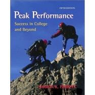 Peak Performance : Success in College and Beyond with online access Card