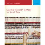 Essential Research Methods for Social Work, 2nd Edition