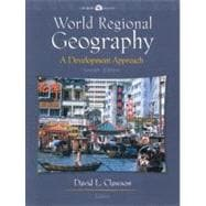 World Regional Geography: A Development Approach