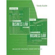 Study Guide for Miller/Jentz�s Fundamentals of Business Law: Summarized Cases, 8th
