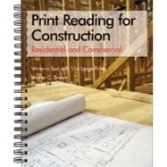 Print Reading for Construction: Residential and Commercial : Write-In Text With 116 Large Prints