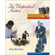 The Unfinished Nation:  Brief, Interactive, Volume 2, with Primary Source Investigator and PowerWeb
