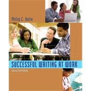 Successful Writing at Work: Concise Edition, 3rd Edition