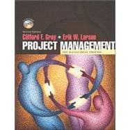 Project Management: The Managerial Process w/ Student CD-ROM