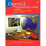 OpenGL(R) Programming Guide : The Official Guide to Learning Opengl, Version 1. 4