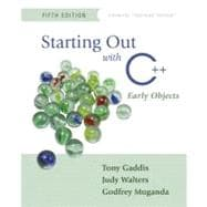 Starting Out with C++ : Early Objects