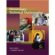 Elementary Technical Mathematics: Basic Select Version