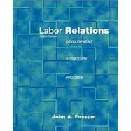 Labor Relations : Development, Structure, Processes