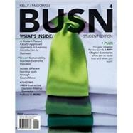 Bundle: BUSN 4 (with Business CourseMate with eBook Printed Access Card), 4th + 4LTR Press Print Option