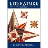 Literature Text Reading, Reacting, Writing